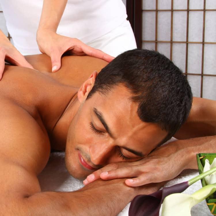 Milf home massage